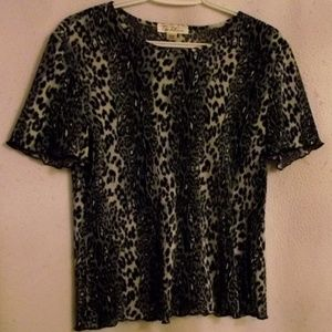 TRADITION Women's Top, Animal Print